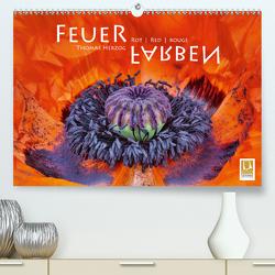 FEUERFARBEN Rot ~ Red ~ Rouge (Premium, hochwertiger DIN A2 Wandkalender 2020, Kunstdruck in Hochglanz) von Herzog,  Thomas, www.bild-erzaehler.com