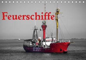 Feuerschiffe (Tischkalender 2020 DIN A5 quer) von Ellerbrock,  Bernd