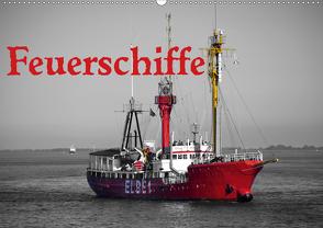 Feuerschiffe (Wandkalender 2020 DIN A2 quer) von Ellerbrock,  Bernd