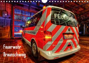 Feuerwehr Braunschweig (Wandkalender 2021 DIN A4 quer) von Will,  Markus