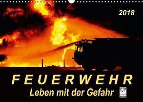 Feuerwehr – Leben mit der Gefahr (Wandkalender 2018 DIN A3 quer) von Roder,  Peter