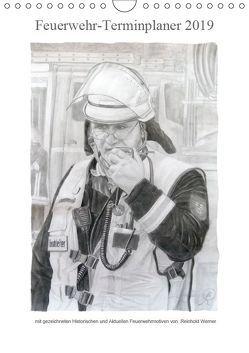 Feuerwehr-Terminplaner (Wandkalender 2019 DIN A4 hoch) von Werner,  Reinhold