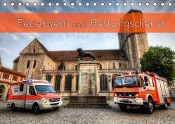 Feuerwehr und Rettungsdienst (Tischkalender 2019 DIN A5 quer) von Will,  Markus