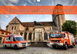 Feuerwehr und Rettungsdienst (Wandkalender 2021 DIN A3 quer) von Will,  Markus