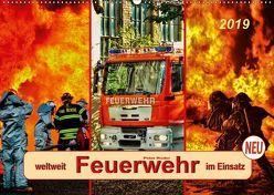 Feuerwehr – weltweit im Einsatz (Wandkalender 2019 DIN A2 quer) von Roder,  Peter