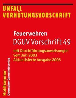 Feuerwehren DGUV Vorschrift 49