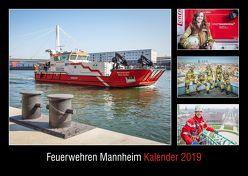 Feuerwehren Mannheim Kalender 2019 von Maurer,  Susanne