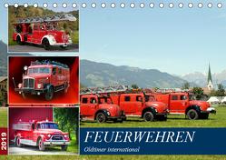 Feuerwehren, Oldtimer international (Tischkalender 2019 DIN A5 quer) von u.a.,  KPH