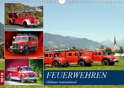 Feuerwehren, Oldtimer international (Wandkalender 2019 DIN A4 quer) von u.a.,  KPH