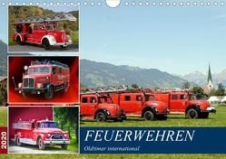 Feuerwehren, Oldtimer international (Wandkalender 2020 DIN A4 quer) von u.a.,  KPH