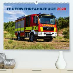 Feuerwehrfahrzeuge (Premium, hochwertiger DIN A2 Wandkalender 2020, Kunstdruck in Hochglanz) von Photoart & Medien / Marcus Heinz,  MH