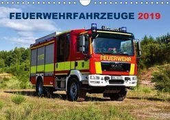 Feuerwehrfahrzeuge (Wandkalender 2019 DIN A4 quer) von Photoart & Medien / Marcus Heinz,  MH