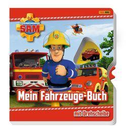 Feuerwehrmann Sam: Mein Fahrzeuge-Buch mit Drehscheibe von Endemann,  Julia, Hoffart,  Nicole, Rauch,  Eva-Regine