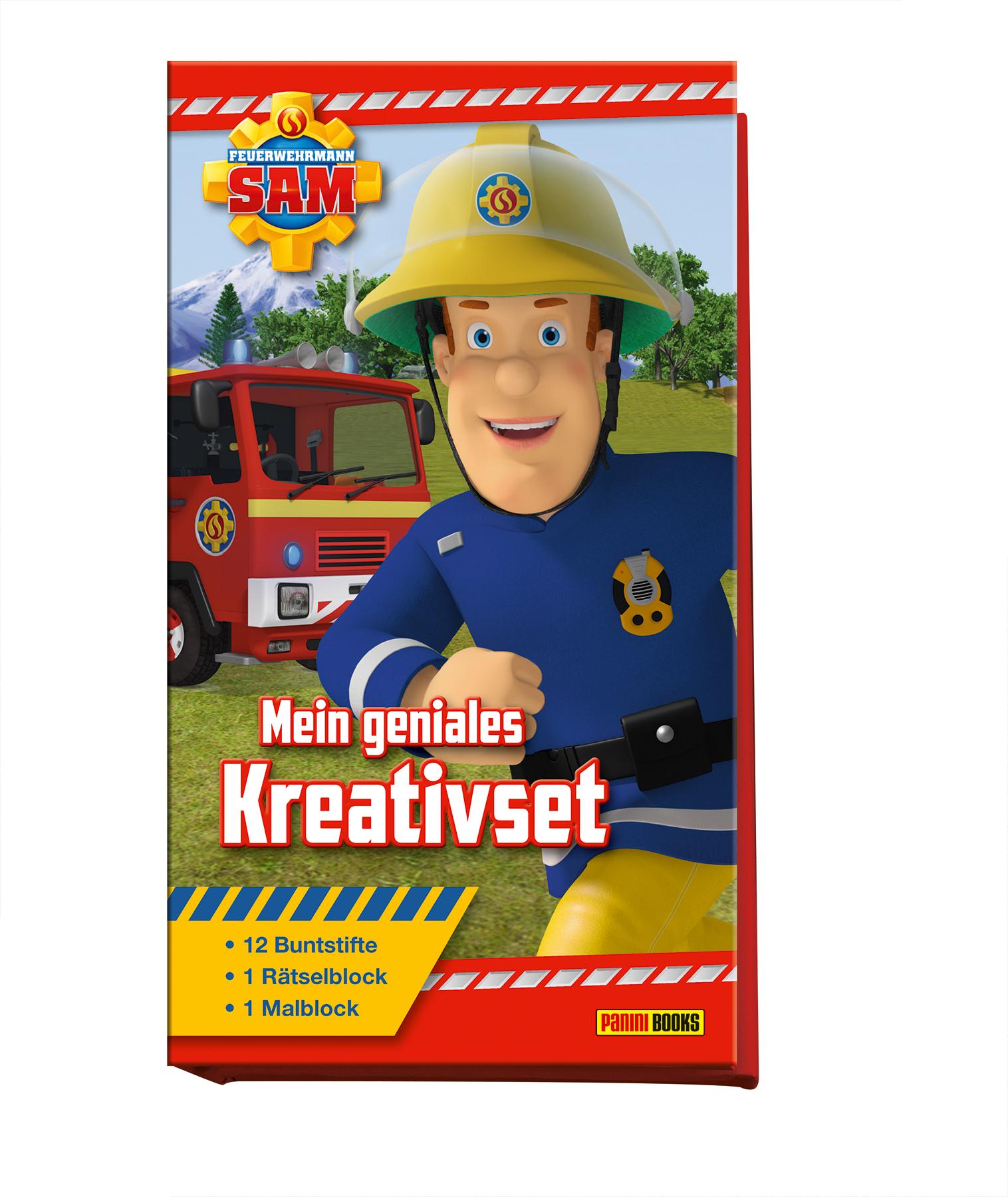 Briefe Von Sam : Feuerwehrmann sam mein geniales kreativset von hoffart