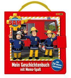 Feuerwehrmann Sam: Mein Geschichtenbuch mit Memo-Legespaß