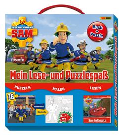 Feuerwehrmann Sam: Mein Lese- und Puzzlespaß von Panini