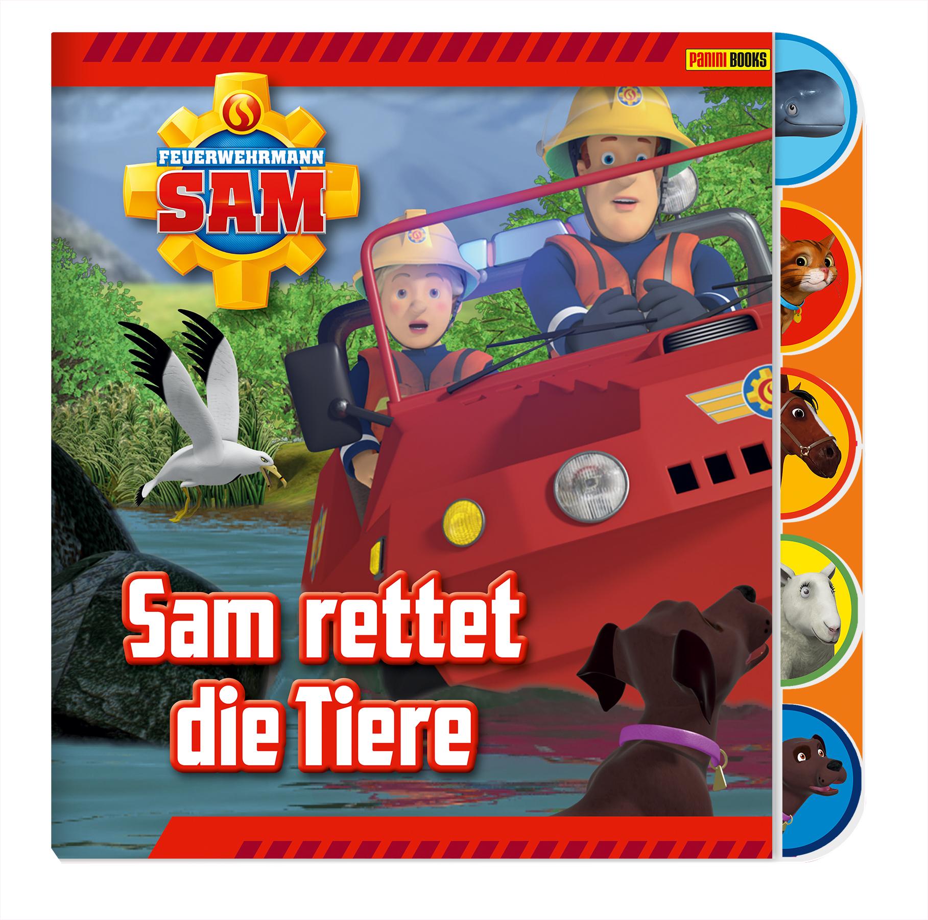 Briefe Von Sam : Feuerwehrmann sam pappbilderbuch von rettet die tiere