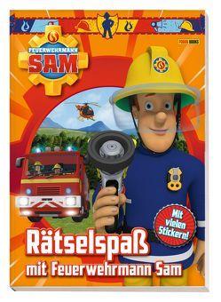 Feuerwehrmann Sam: Rätselspaß mit Feuerwehrmann Sam von Panini