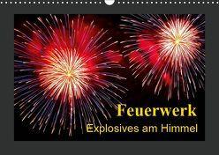 Feuerwerk – Explosives am Himmel (Wandkalender 2019 DIN A3 quer)