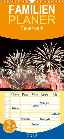 Feuerwerk – Familienplaner hoch (Wandkalender 2019 <strong>21 cm x 45 cm</strong> hoch) von E. Klein,  Tim