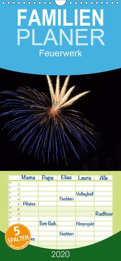 Feuerwerk – Familienplaner hoch (Wandkalender 2020 , 21 cm x 45 cm, hoch) von E. Klein,  Tim