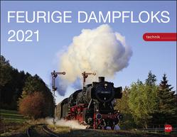Feurige Dampfloks Kalender 2021 von Heye