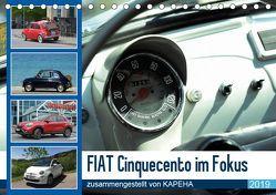 Fiat Cinquecento im Fokus (Tischkalender 2019 DIN A5 quer) von kapeha