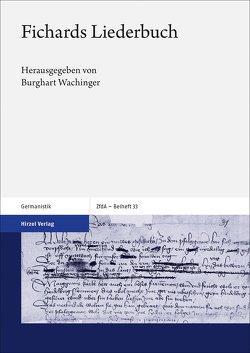 Fichards Liederbuch von Wachinger,  Burghart