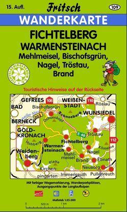 Fichtelberg – Warmensteinach von Fritsch Landkartenverlag