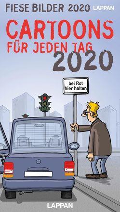 Fiese Bilder Cartoons für jeden Tag 2020 von Diverse