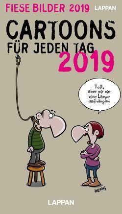 Fiese Bilder Tageskalender 2019 von Diverse