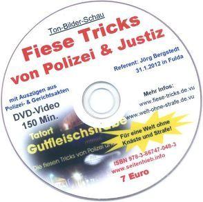 Fiese Tricks von Polizei & Justiz (DVD) von Bergstedt,  Jörg