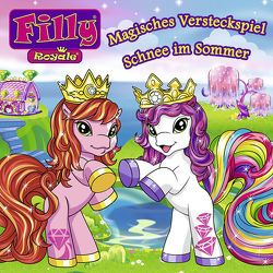 Filly – CD Hörspiele / 08: Magisches Versteckspiel / Schnee im Sommer von Heindl,  Conny, Hornung,  Kerstin