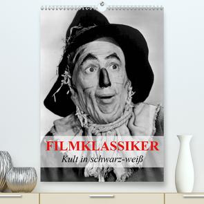 Filmklassiker – Kult in schwarz-weiß (Premium, hochwertiger DIN A2 Wandkalender 2020, Kunstdruck in Hochglanz) von Stanzer,  Elisabeth