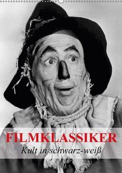 Filmklassiker – Kult in schwarz-weiß (Wandkalender 2018 DIN A2 hoch) von Stanzer,  Elisabeth