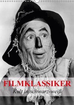 Filmklassiker – Kult in schwarz-weiß (Wandkalender 2018 DIN A3 hoch) von Stanzer,  Elisabeth
