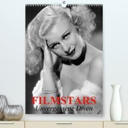 Filmstars – Unvergessene Diven (Premium, hochwertiger DIN A2 Wandkalender 2020, Kunstdruck in Hochglanz) von Stanzer,  Elisabeth