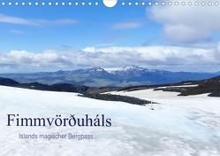 Fimmvörðuháls – Islands magischer Bergpass (Wandkalender 2020 DIN A4 quer) von Travelina