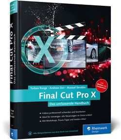 Final Cut Pro X 10.2 von Runge,  Torben, Skroblin,  Manuel, Zerr,  Andreas