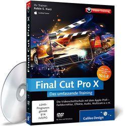 Final Cut Pro X von Kurz,  Robin S.
