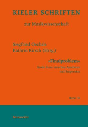 Finalproblem von Kirsch,  Kathrin, Oechsle,  Siegfried