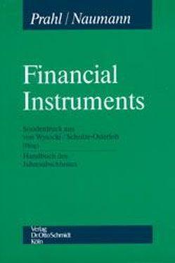Financial Instruments von Kropp,  Matthias, Merz,  Annette, Naumann,  Thomas K, Prahl,  Reinhard