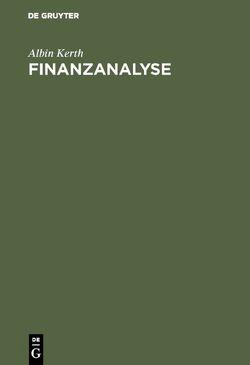 Finanzanalyse von Kerth,  Albin
