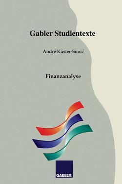 Finanzanalyse von Küster-Simic,  André