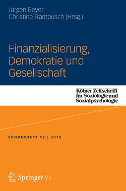 Finanzialisierung, Demokratie und Gesellschaft von Beyer,  Jürgen, Trampusch,  Christine
