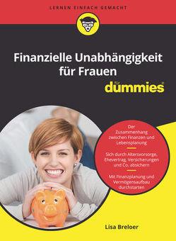 Finanzielle Unabhängigkeit für Frauen für Dummies von Breloer,  Lisa