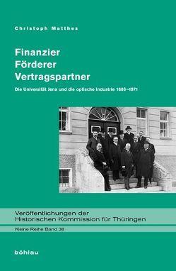 Finanzier – Förderer – Vertragspartner von Matthes,  Christoph