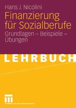 Finanzierung für Sozialberufe von Nicolini,  Hans J.