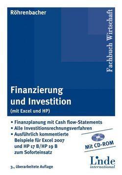 Finanzierung und Investition (mit Excel u.HP) von Röhrenbacher,  Hans