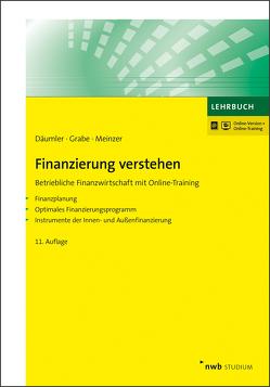 Finanzierung verstehen von Däumler,  Klaus-Dieter, Grabe,  Jürgen, Meinzer,  Christoph R.